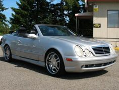 Used Mercedes Benz CLK 430 Cabriolet '00 For Sale in WA — $9995