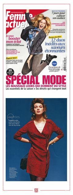 • Louis Quatorze • Femme Actuelle, Septembre 2014