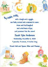 Invitation Birthday Party Invitations 1st Parties Birthdays Vintage Nursery