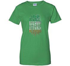 Irish American Flag - Ireland Saint Patrick's Day T-Shirt