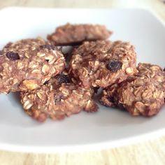 plant. eat. create.: Banana Oatmeal Raisin Cookies - No Flour, No Sugar