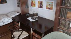 3d Interior Design, Office Desk, Corner Desk, Living Room, Furniture, Home Decor, Corner Table, Desk Office, Decoration Home