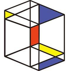 Piet Mondrian, Cubo Grande