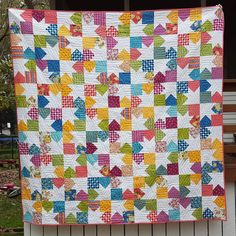 Finished this #plumequilt in #meadowbloomfabric today!! It is on my #2016fal list for Q4. I love everything about it!! The pattern is from #fatquarterstyle by @fatquartershop #itssewemma fabric by @amrosenthal The awesome quilting was done by @juliehirt and I'll do another post with a closeup. I'm so excited to be sewing again!! #2016q4julieschloemer #thatssewjulie2016