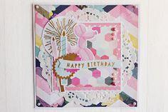 Beccapysslar: 15x15 cm Födelsedagskort