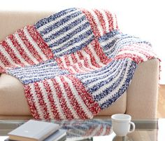 Crochet Afghan Patterns Make a statement this of July! Crochet our USA Afghan with Hometown USA, proudly made in America! Crochet Lion, Crochet Afgans, Manta Crochet, Love Crochet, Knit Crochet, Crochet Blankets, Crochet Things, Beautiful Crochet, Crochet Baby