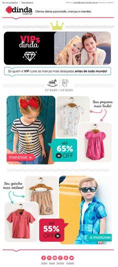 News para divulgação da marca UP Baby e UP Kids