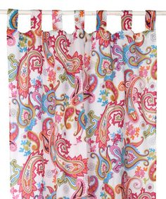 Karma Living Multicolor Paisley Curtain Panel