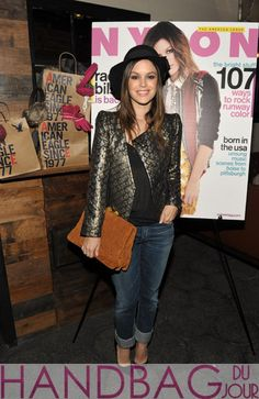 Rachel-Bilson-attends-NYLON-Magazine-And-American-Eagle-November-Issue-Celebration-With-Cover-Star-Rachel-Bilson-at-Sherbourne-on-November-15,-2011-in-Los-Angeles,-California-Miu-Miu-Matelasse-suede-clutch