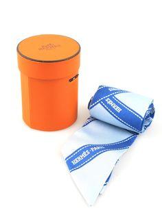 060c8f6b0b8e Hermes Twilly Signature Bolduc Blue Ribbon Print Silk with Box.  LoisirsCadeaux En CuirFoulards HermesPoints De VenteAddiction