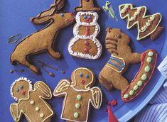 Lebkuchen mit Zuckerguss - Backen mit Kindern