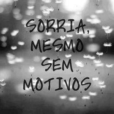 Imagem e Frases Facebook: SORRIA