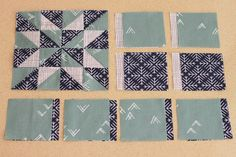Margaret (#57) and Milly (#62) – Farmer's Wife 1930s Sampler Quilt Sew Along