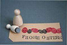 Weiteres - Stempel Osterei - ein Designerstück von perlenfischer bei DaWanda