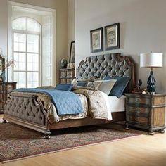 Chateau Sainte-Louis 6-piece Queen Bedroom Set   Master bedroom ...