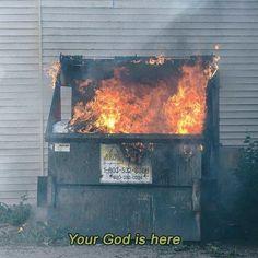 The Dumpster Fire Aesthetic Basketball Meme, Fotografia Grunge, Princesa Punk, Rauch Fotografie, Breathing Fire, Accel World, Dumpster Fire, Into The Fire, It's Always Sunny
