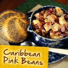 Hispanic Diabetes Recipes: Caribbean Pink Beans