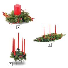 CLASSICAL COLLECTION CANDLE HOLDERS | Get Organized   #holiday #holidayentertaining