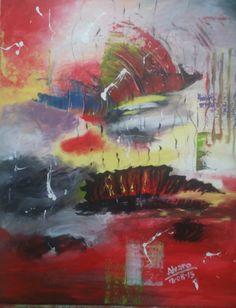 Abstracto - Acrílico sobre lienzo (Barcelona - España)