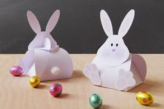 DIY Easter Boxes (free printable)