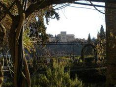 View from Carmen de la Victoria   Granada Spain    Read more about Carmens of Granada