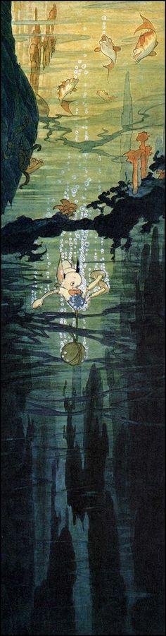 The Art Of Disney's Gustaf Tenggren