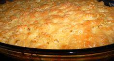 Sajtos-tejfölös tészta csőben sütve recept | APRÓSÉF.HU - receptek képekkel