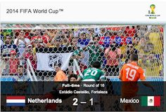 Natherlands Beat Mexico