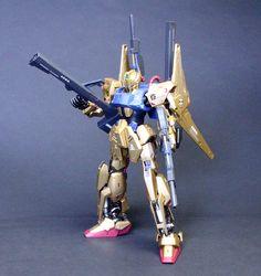 GUNDAM GUY: MG 1/100 Hyaku Shiki Ver 2.0 + 1/100 Mega Bazooka Launcher - Painted Build
