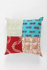Magical Thinking Floral Block Pillow