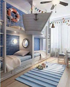 Лодка в спальне / Детская комната / ВТОРАЯ УЛИЦА