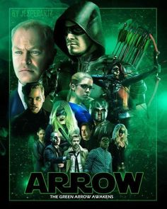 Star Wars style Arrow poster season 4