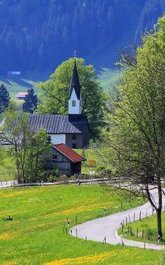 The Chapel - Bolsterlang, Oberallgäu, Bavaria, Germany