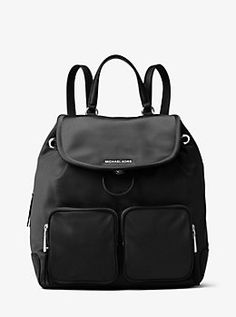 Cara Large Nylon Backpack by Michael Kors
