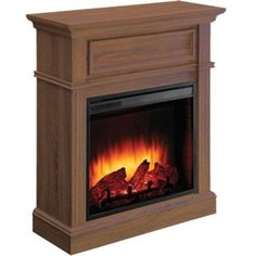 SUNHEAT 25 in. 1500 Watt Infrared Electric Portable Fireplace with ...