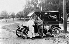 Coca-Cola sales and advertising dept - Late teens or early 1920s...love the full length duster..dt