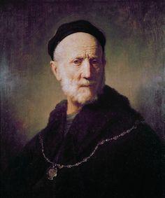 Bust of an old man (1631), by Rembrandt van Rijn.jpg