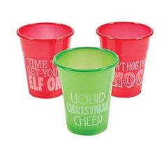 50pc Christmas Holiday Humorous Plastic Drinking Cups 12oz Fun Express http://www.amazon.com/dp/B00PLXEHPA/ref=cm_sw_r_pi_dp_remtwb0QY5HSH