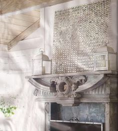 Capiz Shell Wall Art -- Beach Bash Day 12 ~ * THE COUNTRY CHIC COTTAGE (DIY, Home Decor, Crafts, Farmhouse)