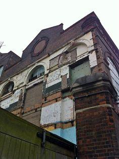 Abandoned factory Lots Road London
