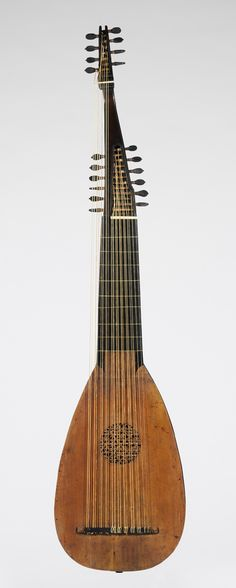 Lute, Pietro Railich, Padua, 1669.  Made from snakewood, ebony, spruce. #music #instruments #lute http://www.pinterest.com/TheHitman14/music-instruments/