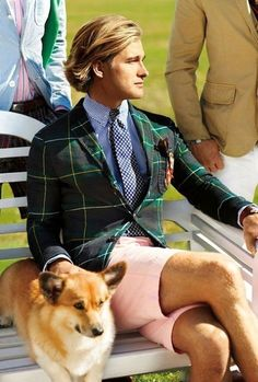 Ralph Lauren Menswear Spring-Summer 2013 Campaign: Burst of colors and prints are Guilty? ~ Men Chic- Men's Fashion and Lifestyle Online Magazine Moda Preppy, Preppy Mode, Preppy Mens Fashion, Men's Fashion, Fashion Gallery, Estilo Preppy, Ivy League Style, Style Masculin, Ivy Style