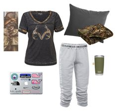 """""""Up @ 5 a.m. Tomorrow"""" by kansascountrygirl ❤ liked on Polyvore featuring Under Armour and Realtree"""