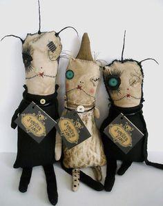 strange dolls by Catherine Zacchino