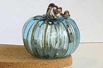 ice blue pale aqua pumpkin