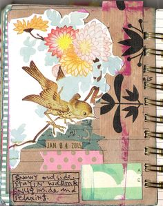 Art journal inspiration - the all-new adventures of CoreyMarie.com - 004
