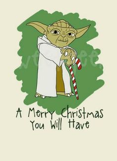 #Yoda #merry #christmas