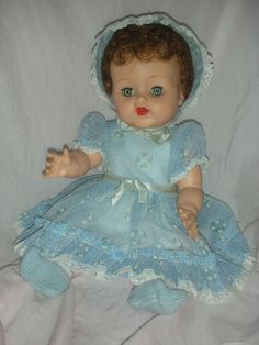 mint doll 1950s | Mint Vintage 1950s Ideal Betsy Wetsy Doll All Original