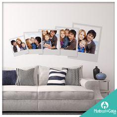 Uma boa forma de decorar apostando nas coisas simples e importantes da vida… sua família! Conheça as opções de artigos de decoração personalizados que o #mudominhacasa oferece aos seus clientes.