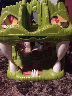 Vintage 1983 Dungeons & Dragons Fortress Of Fangs Playset Used LJN Toys TSR